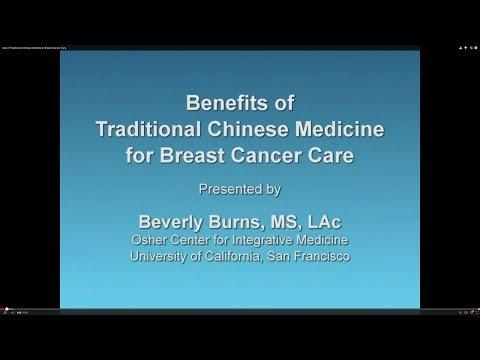 Benefits of Traditional Chinese Medicine for Breast Cancer Care