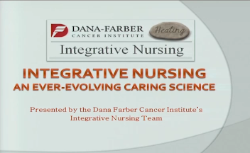 Clinical Case Presentation: Integrative Nursing: An Ever-Evolving